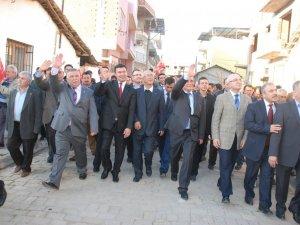 Germencik Seçim Bürosu Açılışı Mitinge Dönüştü