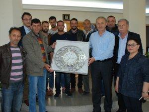 Sivil Toplum Örgütleri Başkan Atabay'ı Ziyaret Etti