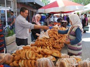 Aydın'da Asırlık Simit Geleneği Devam Ediyor