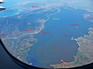 Bafa Gölü'nün Kirliliği Hava Fotoğraflarına Yansıdı