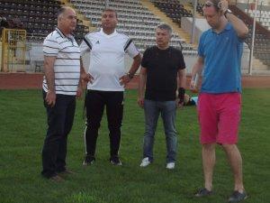 Mustafa Ceviz, Adnan Menderes Stadı'nı inceledi