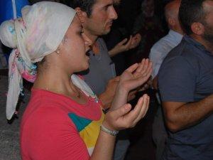 Aydın'da Filistin'e Dua, İsrail'e Beddua Eylemi