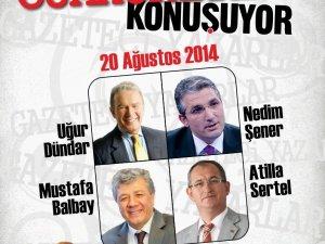 Gazeteci ve Yazarlar Cumhuriyet'i Konuşacak