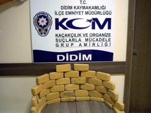 Avrupa'ya gönderilecek 18 kilo eroin polise takıldı