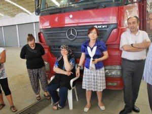 Aydın Büyükşehir Belediyesi'ne Kömür Eylemi