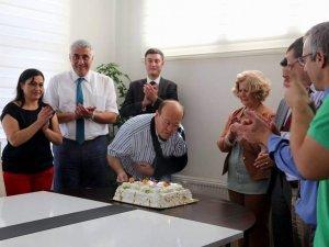 Başkan Mesut Özakcan'a Sürpriz Doğum Günü