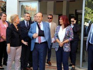 Çerçioğlu ve Özakcan, Efeler Belediyesi Personeliyle Bayramlaştı