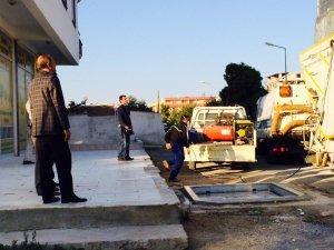 Başkan Atabay Çöp Konteynırlarını Denetledi