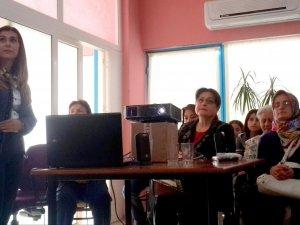 Nazilli'de Kadın Girişimciler Bilinçlendirildi