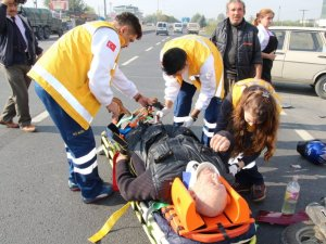 Nazilli'de Aşırı Hız ve Dikkatsizlik Kazayı Getirdi