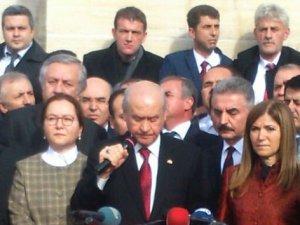 Bahçeli: 'Dersim isyandır isyancılar teröristtir'