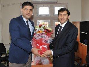 ADÜ Nazilli ve Yenipazar MYO'nun yeni müdürleri göreve başladı