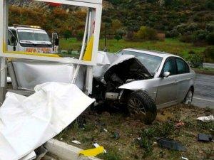 Söke'de Trafik Kazası: 1 Ölü, 2 Yaralı