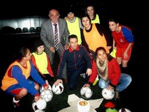 7 Eylül Gençlikspor'da doğum günü partisi düzenlendi