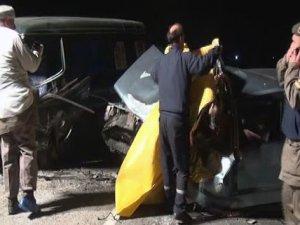 Nazilli'de trafik kazası: 1 ölü, 1 yaralı