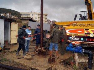 Kuşadası'nda 3 içme suyu kuyusunun bakımı yapıldı