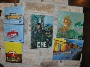 Kuşadası'nda 'Viva Cuba' sergisi açıldı