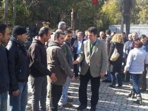 Baydar Kuşadası'nda çeşitli ziyaretlerde bulundu