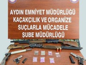 Aydın'da 200 polisle uyuşturucu operasyonu
