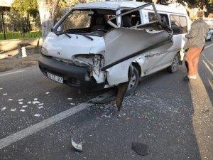 Nazilli'de trafik kazası: 1 kişi yaralandı