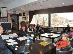 Anadolu Partisi, Başkan Kayalı'yı ziyaret etti