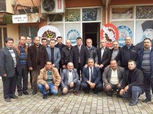 Germencik Ziraat Odası Yönetimi görev dağılımı yaptı