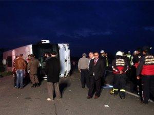 Aydın'da otobüs kazası: 22 kişi yaralandı