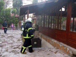 Aydın'da iş yeri yangını korkuttu