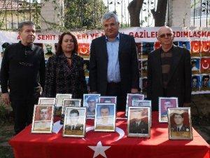 Altıntaş Aydın Şehit Aileleri ve Malül Gaziler Yardımlaşma Derneği'ni ziyaret etti