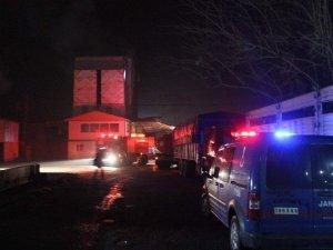 Aydın'da  akaryakıt istasyonun da yangın paniği