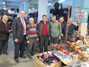 AK Parti'li Mustafa Oğurlu, Nazilli'yi ziyaret etti