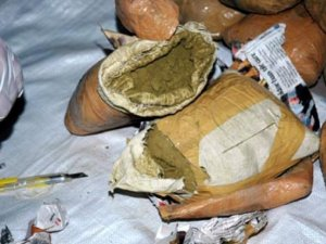 Nazilli'de 300 gr uyuşturucu ele geçirildi