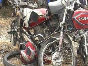 Nazillli Ocaklı Köyün'de Trafik Kazası; 2 Yaralı