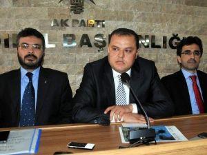 Abdurrahman Öz'den AK Parti İl Başkanlığına Ziyaret