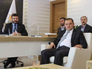 AK Parti Adayı  Abdurrahman Öz, Sahaya İndi