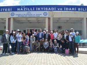 Nazilli'de Uzun Yaşam Yürüyüşü Etkinliği Düzenlendi