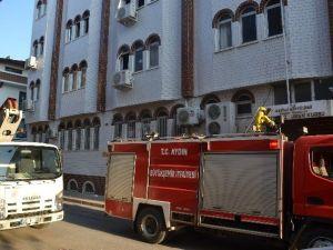Nazilli'de Yangın Öğrencileri Korkuttu