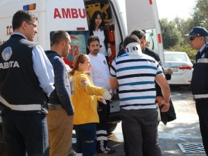 Didim'de Meydana Gelen Trafik Kazası Korkuttu