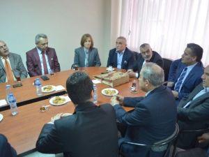 MHP Aydın Milletvekili Adaylarından Söke Esnaf Odalarına Ziyaret