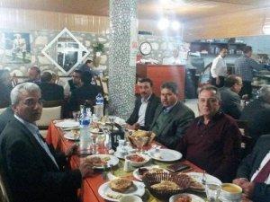 Karacasulu Muhtarlar Dayanışma Yemeğinde Buluştu