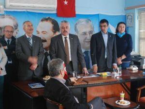 DSP Kuşadası'nda Milletvekili Adaylarını Tanıttı