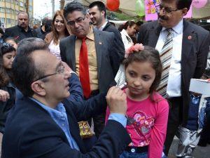 CHP, Nazilli'deki Minikleri Sevindirdi