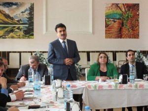 İlçe Milli Eğitim Müdürleri Köşk'te Bir Araya Geldi