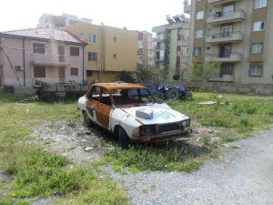 Görüntü Kirliliğine Neden Olan Hurda Araçlar Toplanıyor