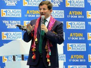Başbakan Davutoğlu Aydın'a Geliyor