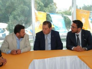 AK Parti Adayı Öz Didim'de Sanayi Esnafını Ziyaret Etti