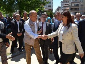Çerçioğlu, Perşembe Pazarını Gezdi