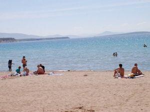 Didim Altınkum Plajında Deniz Sezonu Başladı
