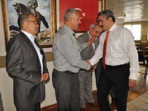 Nazilli Birlik'in Yeni Yönetimi Alıcık'ı Ziyaret Etti