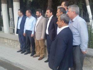 AK Parti Aydın İl Başkanı Özmen, Mezarlıkta İnceleme Yaptı